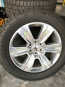 Ford F 150 Platinum Wheels And Tire Combo