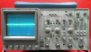 Tektronix 2245a 100 Mhz 4 Channel Dual Time Base Oscilloscope Sn b021623