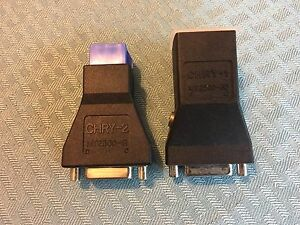 Snap On Chry 1 Mt2500 30 And Chry 2 Mt2500 31 Adapters