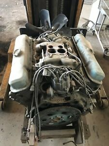 1971 Pontiac 400 Ys Gto Block Complete Takeout Engine Intake To Oil Pan D 14 71