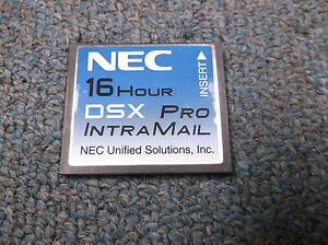 Nec Dsx 80 160 1091051 V2 2 1t G Intramail 4 Port 16 Hour Pro Voice Mail System