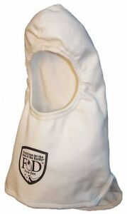 Fire dex Fire Hood Universal 13 In L White Hrc 1 Universal Nomex r H37nenb