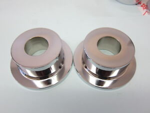 Lowrider Hydraulics One Pair Of Chrome Deep Reverse Cups