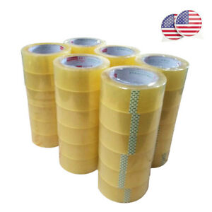Us Pack Of 5 10 36 Clear Package Tape Shipping Tape 2 inches X 100 Yds