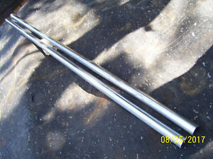 Vintage Ji Case 830 Gas Row Crop Tractor Hood Side Trim Strips 1958
