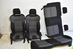 2007 2009 Mazdaspeed3 Seat Assembly Front Rear Set Oem Mazda Speed3 Ms3 07 09