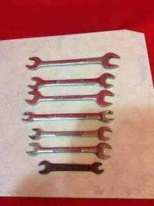 Individual Replacement Craftsman Open End Wrenches