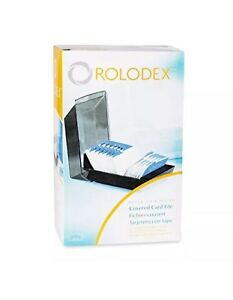 Rolodex 67011 Rolodex Covered Business Card File 500 2 1 4x4 Cards 24 A z Gui
