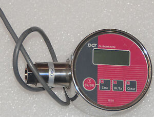 Dct Digital Pressure Gauge 0 2000 Psig jib2gc