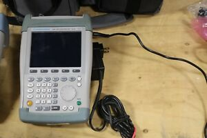 Rohde Schwarz Fsh6 Spectrum Analyzer With Power Supply