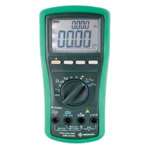 Greenlee Dm 810a Digital Multimeter