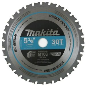 Makita A 95037 Tct Saw Blade 5 3 8 inch By 5 8 inch By 30t