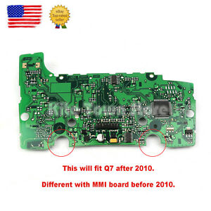 New Mmi Multimedia Control Circuit Board With Navigation For Audi Q7 2010 2015