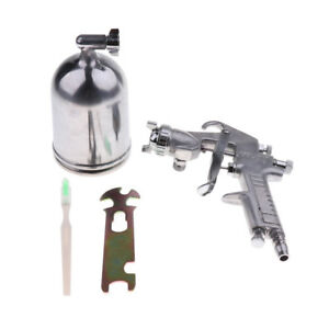 W77 Car Wall Funiture Air Compressor Spray Gun Paintng Tool Nozzle Dia 3mm