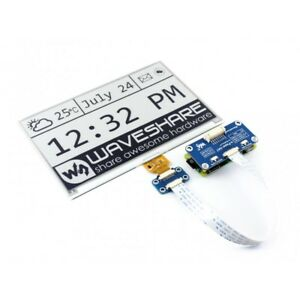 Waveshare 640x384 7 5inch E ink Display Hat For Raspberry Pi Spi Interface