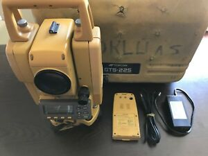 Topcon Gts 225 Total Station Worldwide Free Ship