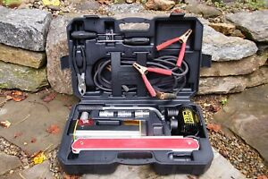 Michelin Auto Emergency Roadside Kit Jumper Cables Air Compressor Light Lugs
