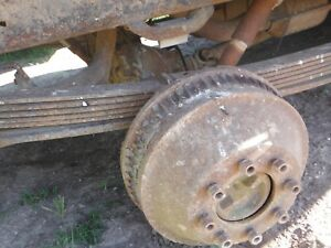 1988 89 Gm 2500 3500 14 Bolt 8 Lug Axle Assembly Gu6 3 42 G80 Locker Will Ship