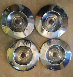 Set Of 53 Cadillac Sombrao Hubcaps Vintage 1953