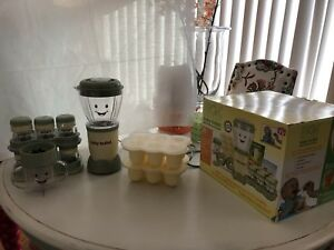 NEW Magic Bullet Baby Bullet Food Making System  set of 2 Lot