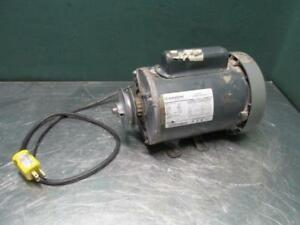 Marathon Electric Motor 1 1 2 Hp 115 230 Volt 3450 Rpm 1 Ph Single Phase