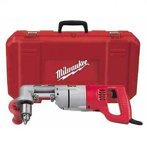 Milwaukee 3002 1 1 2 D handle Right Angle Drill Kit