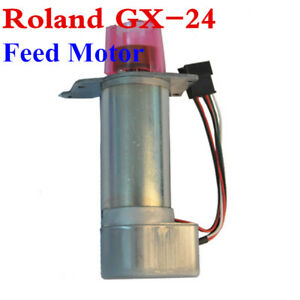 Original Roland Feed Motor Roland Gx 24 Sign Cutting Plotter 22805624