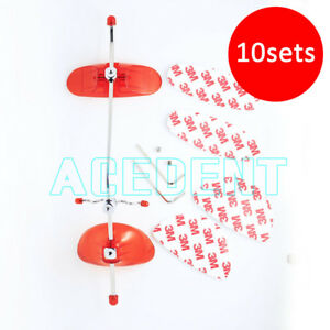 10 X Adjustable Orthodontic Face Mask Reverse Pull Headgear Red 3m Class Iii