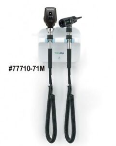 New Welch Allyn 77710 Wall Transformer With Macroview Otoscope Opthamoscope