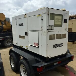 Multiquip Dca70 Portable Diesel Generator Set