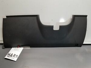 Black Lower Knee Bolster Dash Panel Trim Cover Under Column Ford Mustang 14 2014