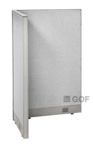 Gof L shaped Office Partition 30d X 30w X 48h Freestanding Room Divider