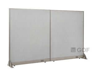 Gof Office Freestanding Partition 96 w X 60 h Office Divider