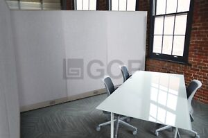 Gof L shaped Office Partition 78d X 108w X 48h Freestanding Room Divider