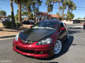 Carbon Creations Oer Look Hood 1 Piece For Rsx Acura 02 06 Ed100384