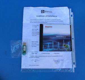 Thermo Dionex Chromeleon 6 8 Chromatography Data System Software And Dongle