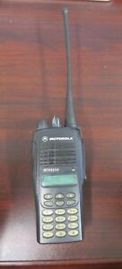 Motorola Mtx8250 800 Mhz Privacy Plus Radio Aah25uch6gb6an With Battery