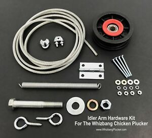 Whizbang Plucker Idler Arm Hardware Kit An Important Part For Sure