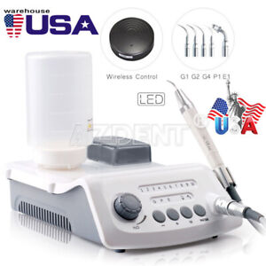 Dental Wireless Control Ultrasonic Scaler With Led Detachable Handpiece Vrn a8