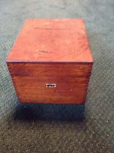 Vintage Weis Oak Card Catalog Library Filing 3 X 5 1 Drawer