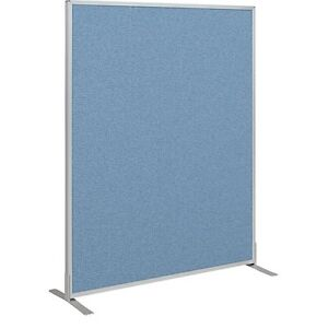 Office Cubicle Wall Divider Partition Standard Modular Panel Blue 5 h X 4w 66216