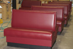 Restaurant Booth 48 l X 42 h Single And Double Side Booth Quick Ship Made In Us