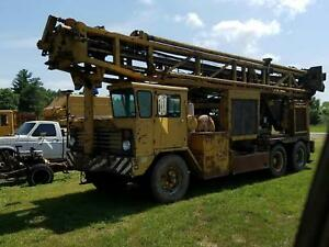 Ingersoll Rand T4w Drill Rig 750 300 Water Well Oil Gas Drilling Ir T4 Detroit