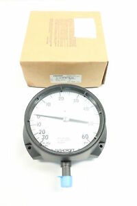 New Ashcroft 60 1379 as 04l Duragauge Pressure Gauge 30 0in hg 0 60psi