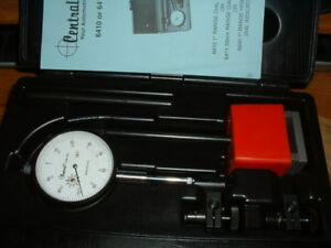 Central Tools Dial Indicator Set 6410