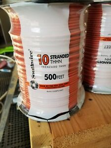 Southwire 10 Stranded Orange Wire 500 Feet