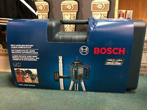 Bosch 1 000 ft Beam Self Leveling Rotary Laser Level Full Kit 7802