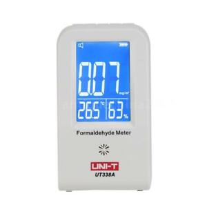 Uni t Ut338a Precision Indoor Formaldehyde Data Logger Detector Air Monitor D1s1