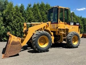 1998 Caterpillar 924f Articulated Wheel Loader Cab Ac Cat Rubber Tire Tractor