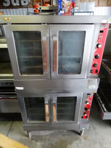 Vulcan Sg4 Double Stack Full Size Natural Gas Convection Ovens Very Nice